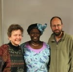 Wangari Maathai with Francesca Rheannon and Bill Baue
